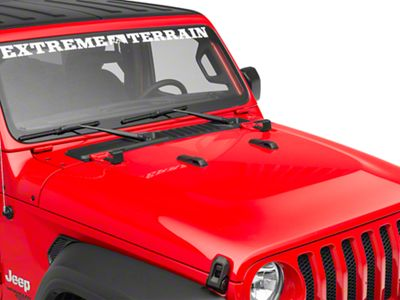 Hauk Off-Road Hood Jack Mount (2018 Jeep Wrangler JL)