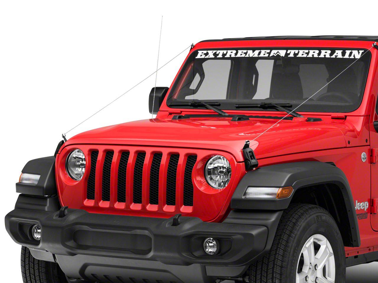 Hauk Off-Road Limb Risers (2018 Jeep Wrangler JL)
