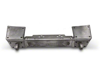 Hauk Off-Road Front Bumper - Bare Steel (18-19 Jeep Wrangler JL)