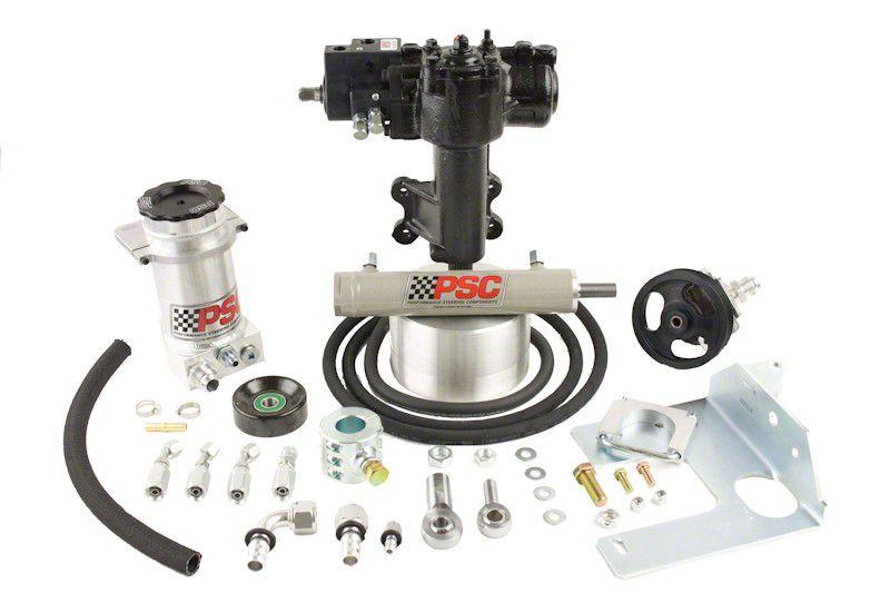 PSC Motorsports Extreme Duty Steering Cylinder Assist Kit (07-11 Jeep Wrangler JK 4 Door)