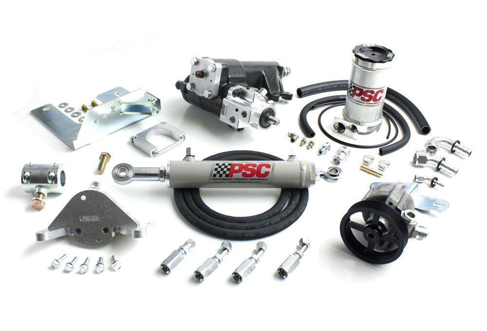 PSC Motorsports Extreme Duty Steering Cylinder Assist Kit (12-18 Jeep Wrangler JK 2 Door)