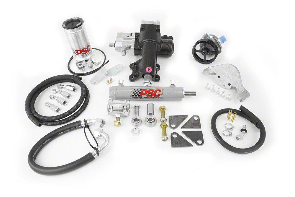 PSC Motorsports Steering Cylinder Assist Kit for Aftermarket D44 (12-18 Jeep Wrangler JK 4 Door)