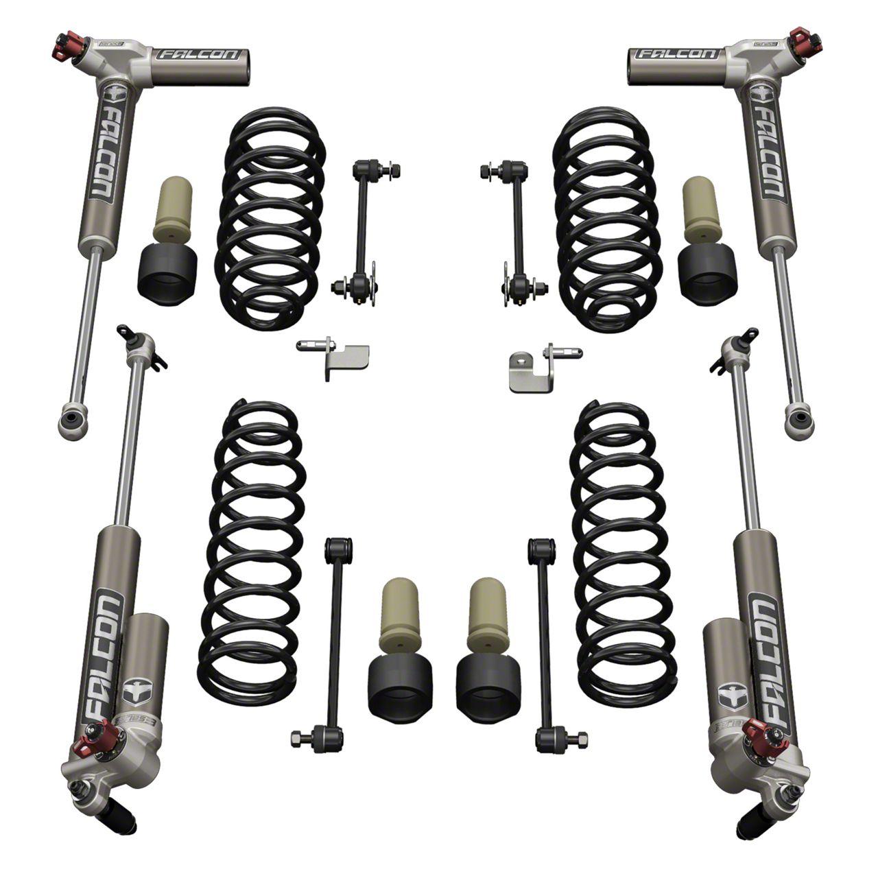 Teraflex 1.5 in. Sport S/T1 Suspension Lift Kit w/ 3.3 Falcon Shocks (07-18 Jeep Wrangler JK 2 Door)