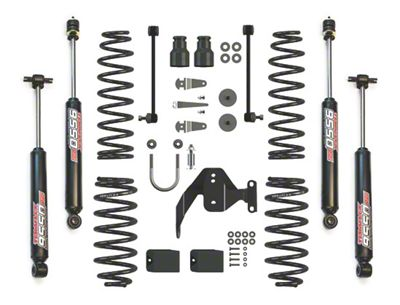 Teraflex 2.5 in. Lift Kit w/ 9550 VSS Shocks (07-18 Jeep Wrangler JK 2 Door)