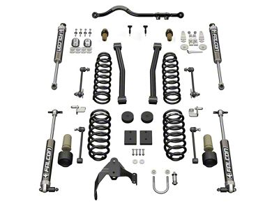 Teraflex 2.5 in. Sport S/T2 Suspension Lift Kit w/ 2.1 Falcon Shocks (07-18 Jeep Wrangler JK 4 Door)
