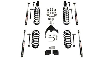Teraflex 3 in. Base Suspension Lift Kit w/ 9550 VSS Shocks (07-18 Jeep Wrangler JK 4 Door)