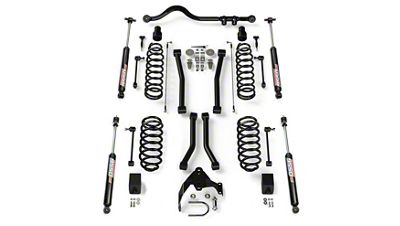 Teraflex 3 in. Lift Suspension Lift Kit w/ 4 Sport FlexArms, Track Bar & 9550 VSS Shocks (07-18 Jeep Wrangler JK 2 Door)