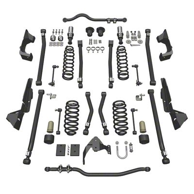 Teraflex 4 in. Alpine CT4 Suspension Lift Kit (07-18 Jeep Wrangler JK 2 Door)