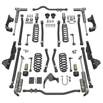 Teraflex 4 in. Alpine CT4 Suspension Lift Kit w/ 3.1 Falcon Shocks (07-18 Jeep Wrangler JK 4 Door)
