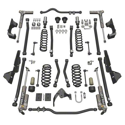 Teraflex 4 in. Alpine CT4 Suspension Lift Kit w/ 3.2 Falcon Shocks (07-18 Jeep Wrangler JK 4 Door)