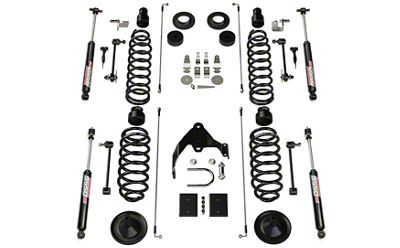 Teraflex 4 in. Base Suspension Lift Kit w/ 9550 VSS Shocks (07-18 Jeep Wrangler JK 4 Door)