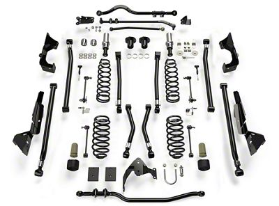 Teraflex 6 in. Alpine CT6 Suspension Lift Kit (07-18 Jeep Wrangler JK 2 Door)