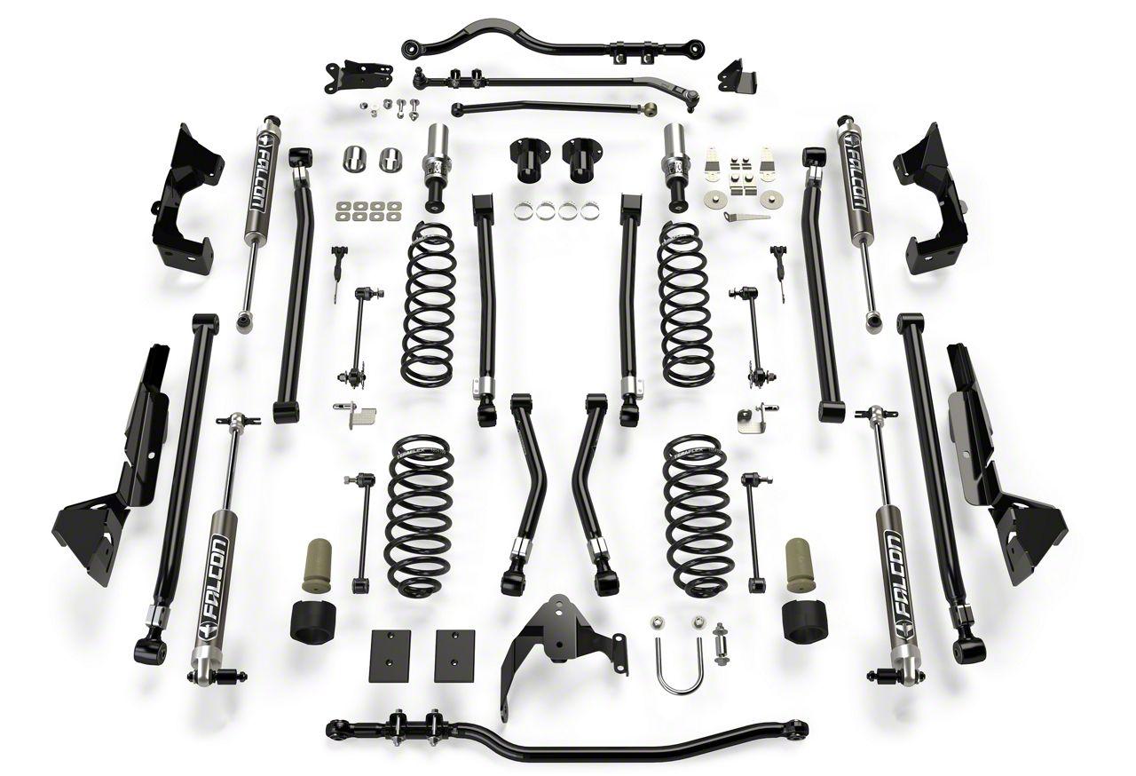 Teraflex 6 in. Alpine CT6 Suspension Lift Kit w/ 2.1 Falcon Shocks (07-18 Jeep Wrangler JK 4 Door)