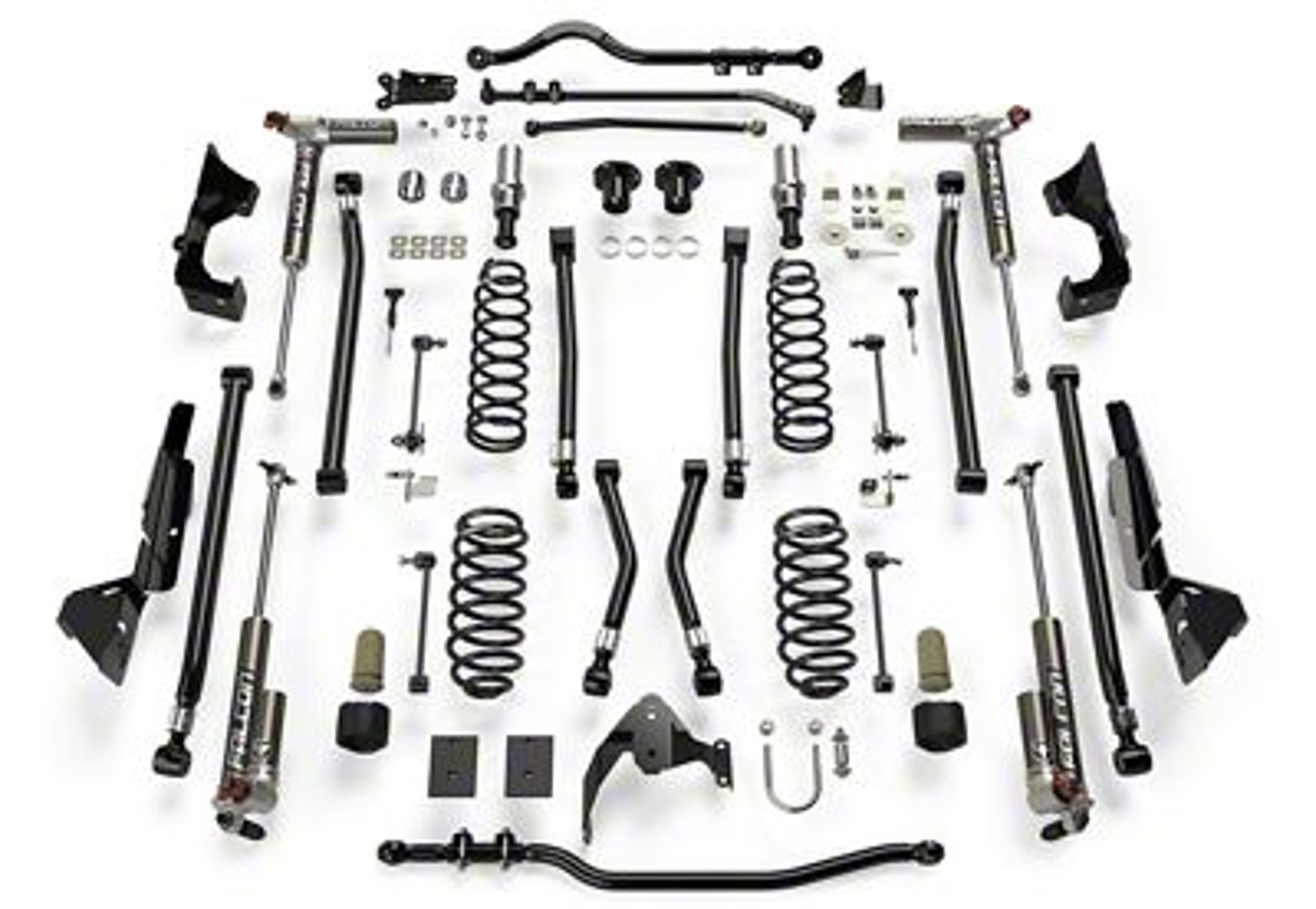 Teraflex 6 in. Alpine CT6 Suspension Lift Kit w/ 3.3 Falcon Shocks (07-18 Jeep Wrangler JK 4 Door)