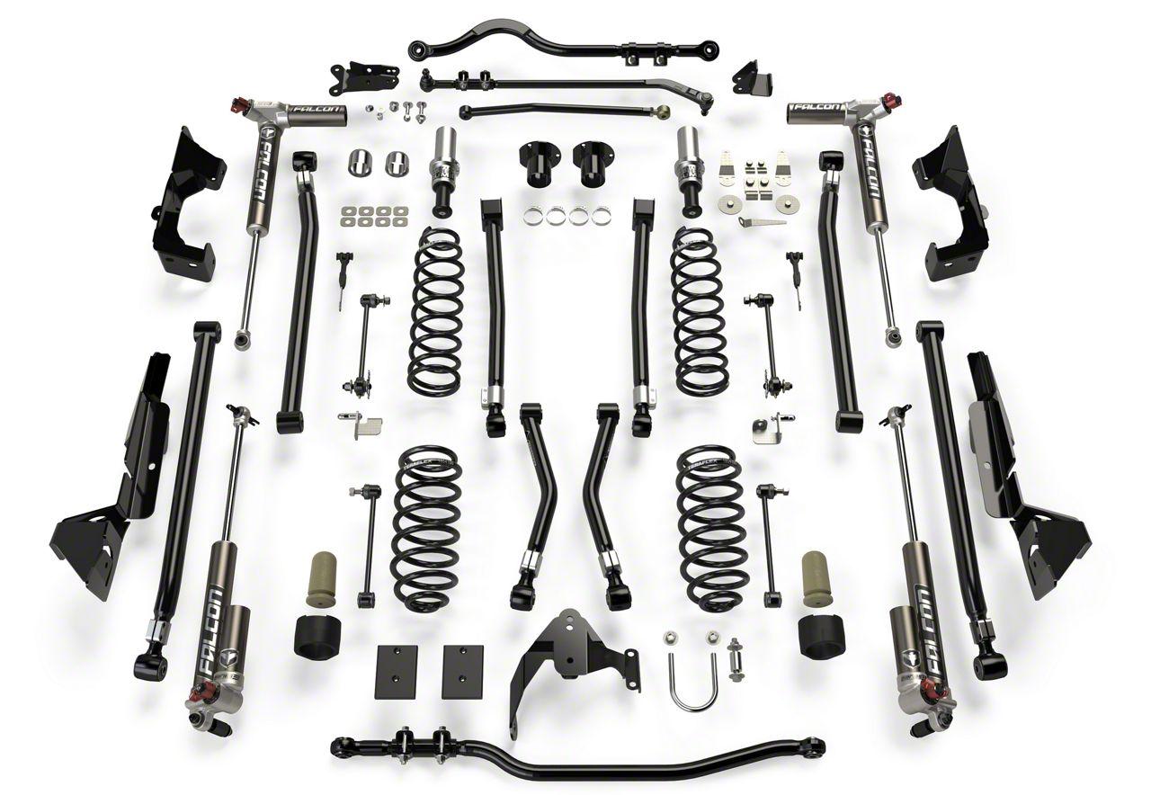 Teraflex 6 in. Alpine CT6 Suspension Lift Kit w/ 3.3 Falcon Shocks (07-18 Jeep Wrangler JK 2 Door)
