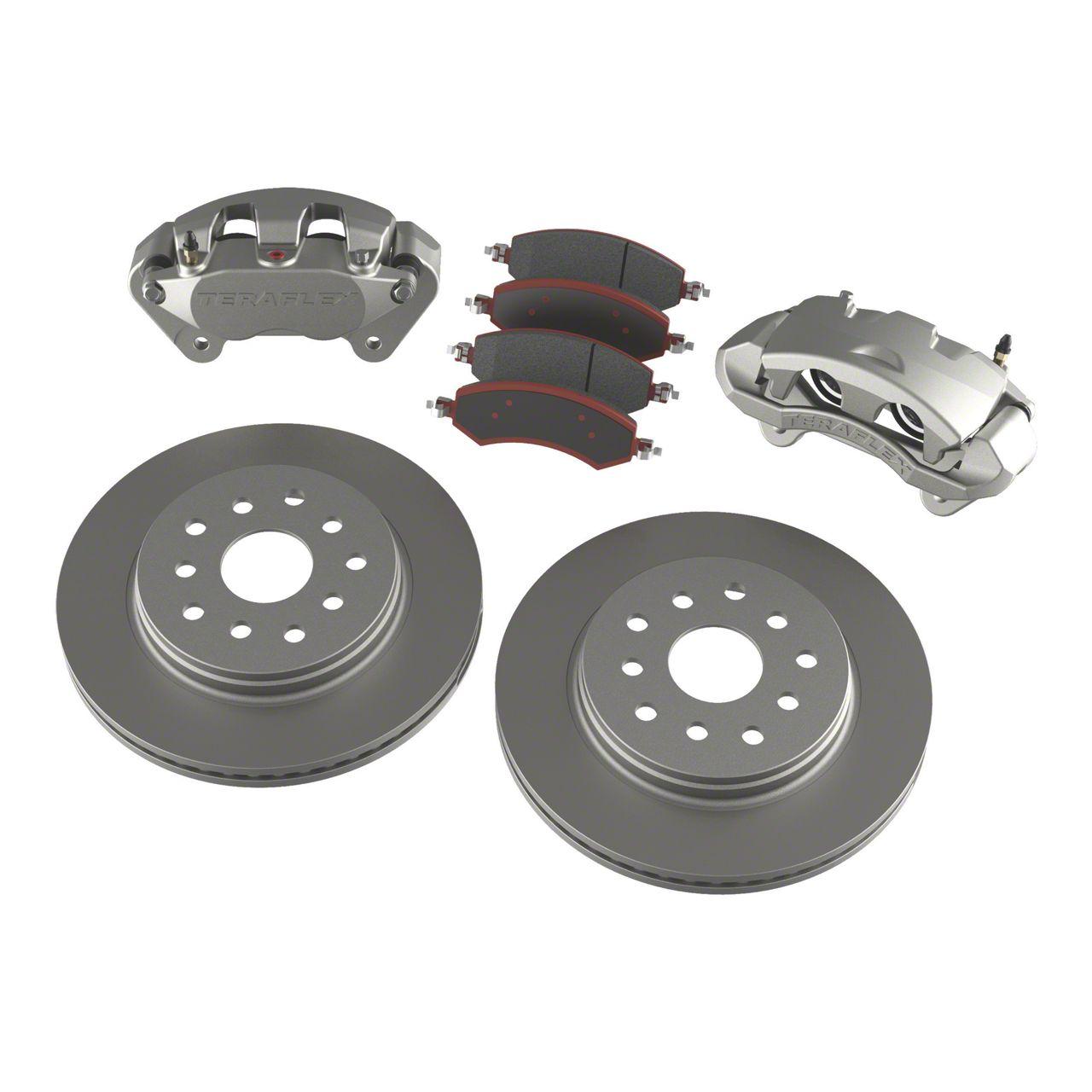 Teraflex Front Big Brake Kit w/ 13.3 in. Vented Rotors (07-18 Jeep Wrangler JK)