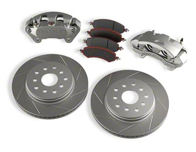 Teraflex Front Big Brake Kit w/ 13.3 in. Vented Slotted Rotors (07-18 Jeep Wrangler JK)