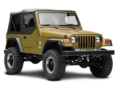 MasterTop Replacement Door Skin - Black Diamond - Passenger Side (97-06 Jeep Wrangler TJ)