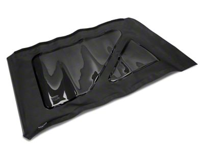 MasterTop Replacement Quarter Window - Black Diamond - Driver Side (07-18 Jeep Wrangler JK 2 Door)