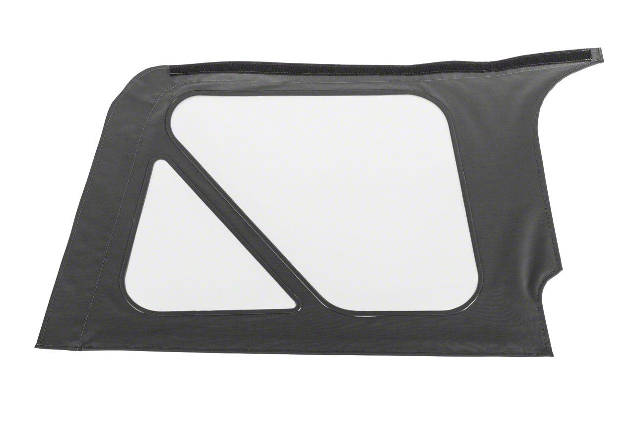 MasterTop Replacement Quarter Window - Black Diamond - Passenger Side (97-06 Jeep Wrangler TJ)