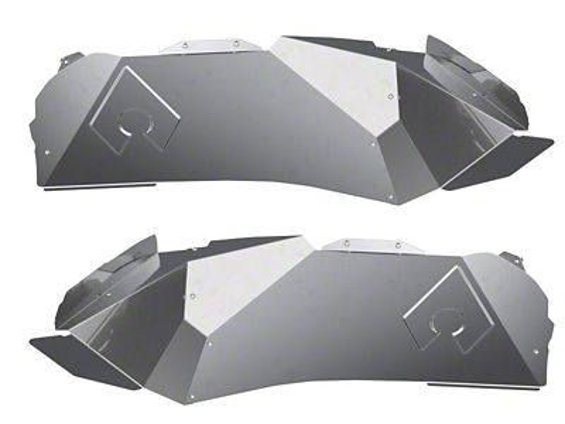 Artec Industries Front Inner Fenders - No Cutout - Solid (18-19 Jeep Wrangler JL)