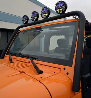 Body Armor 4x4 Windshield Light Bar (07-18 Jeep Wrangler JK)