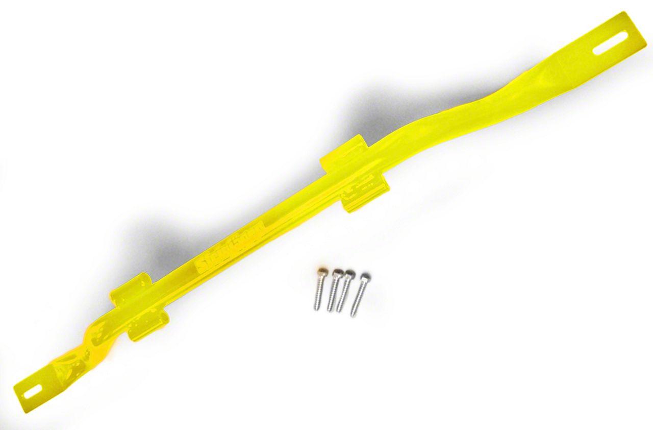 Steinjager Door Hanger - Neon Yellow (18-19 Jeep Wrangler JL)