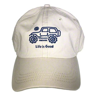 Life is Good Native Off Road Chill Hat - Bone