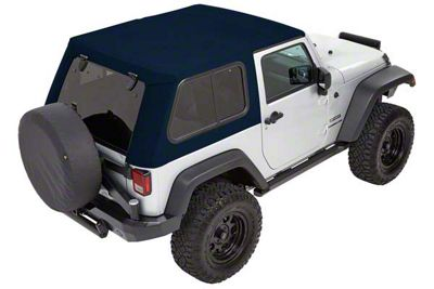 Bestop Trektop Pro Hybrid Soft Top - Blue Twill (07-18 Jeep Wrangler JK 4 Door)