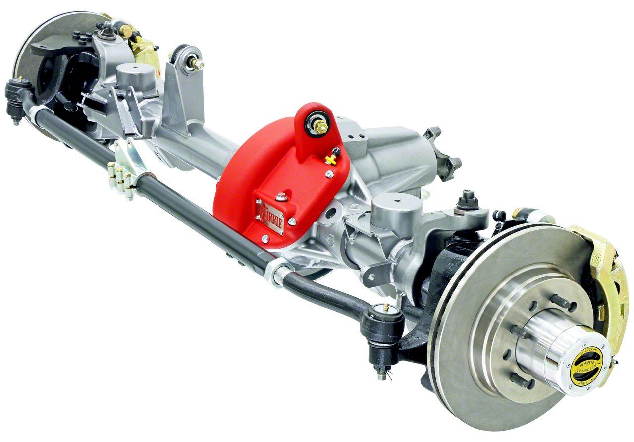 Currie RockJock 60VXR Front Crate Axle w/ Eaton Locker - 5.13 Ratio - 8x6.5 Bolt Pattern (07-18 Jeep Wrangler JK)