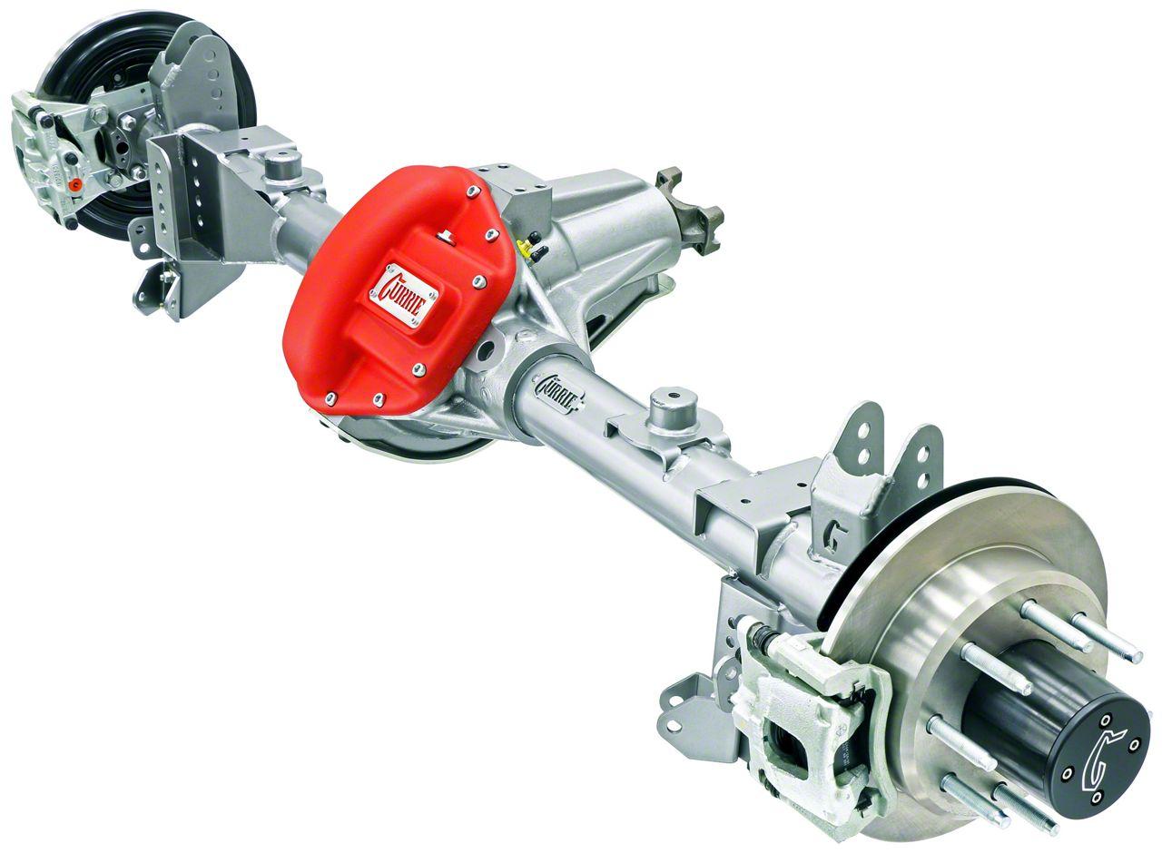 Currie RockJock 70 Rear Crate Axle w/ Eaton Locker - 5.38 Ratio - 6x5.5 Bolt Pattern (07-18 Jeep Wrangler JK)