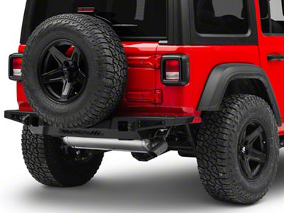 Addictive Desert Designs Stealth Fighter Rear Bumper - Not Pre-Drilled for Backup Sensors (2018 Jeep Wrangler JL)