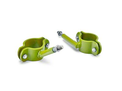 Steinjager High Lift Jack Roll Bar Mount - Gecko Green (04-06 Jeep Wrangler TJ Unlimited)
