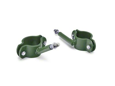Steinjager High Lift Jack Roll Bar Mount - Locas Green (04-06 Jeep Wrangler TJ Unlimited)