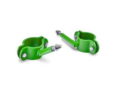 Steinjager High Lift Jack Roll Bar Mount - Neon Green (04-06 Jeep Wrangler TJ Unlimited)