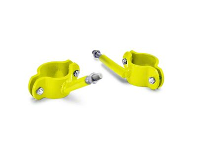 Steinjager High Lift Jack Roll Bar Mount - Neon Yellow (04-06 Jeep Wrangler TJ Unlimited)