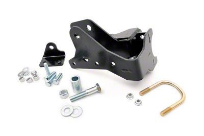 Rough Country Front Track Bar Bracket for 3.5-4.5 in. Lift (07-18 Jeep Wrangler JK)