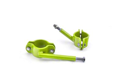 Steinjager High Lift Jack Roll Bar Mount Kit - Gecko Green (07-18 Jeep Wrangler JK 2 Door)
