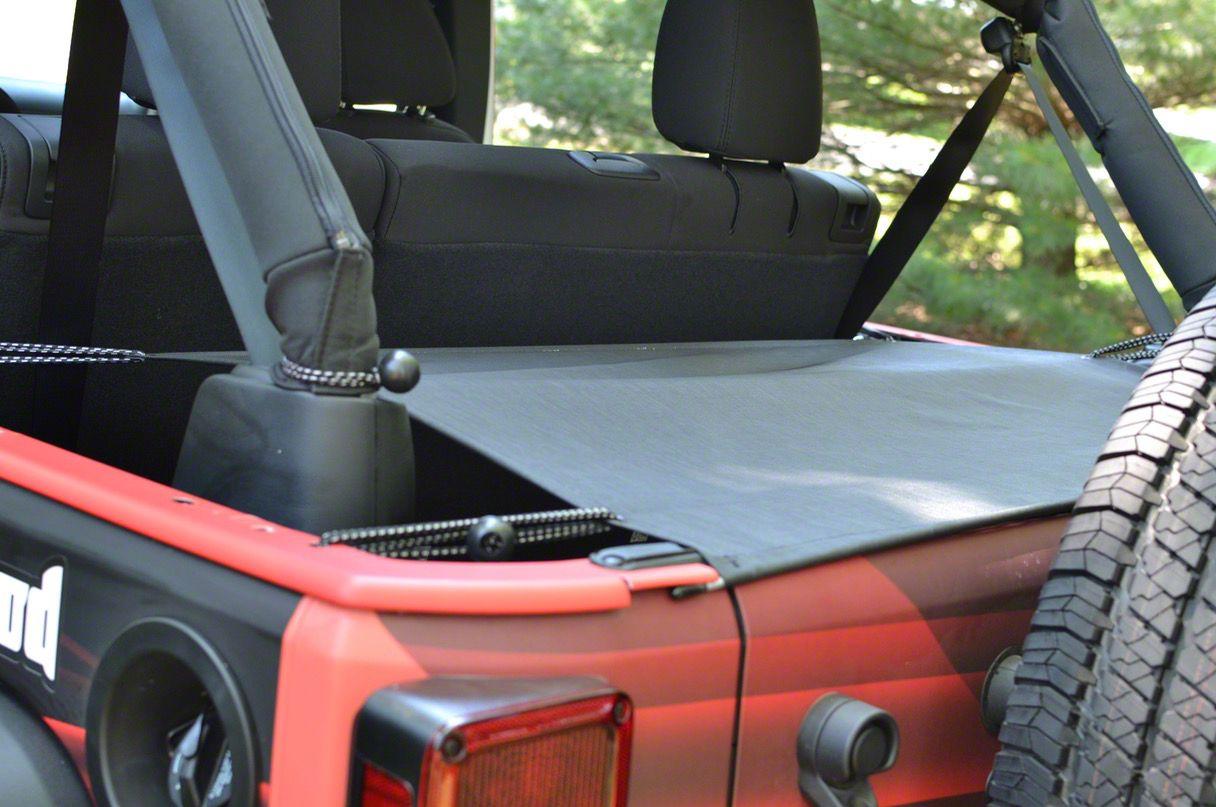 Steinjager Cargo Cover (07-18 Jeep Wrangler JK 4 Door)