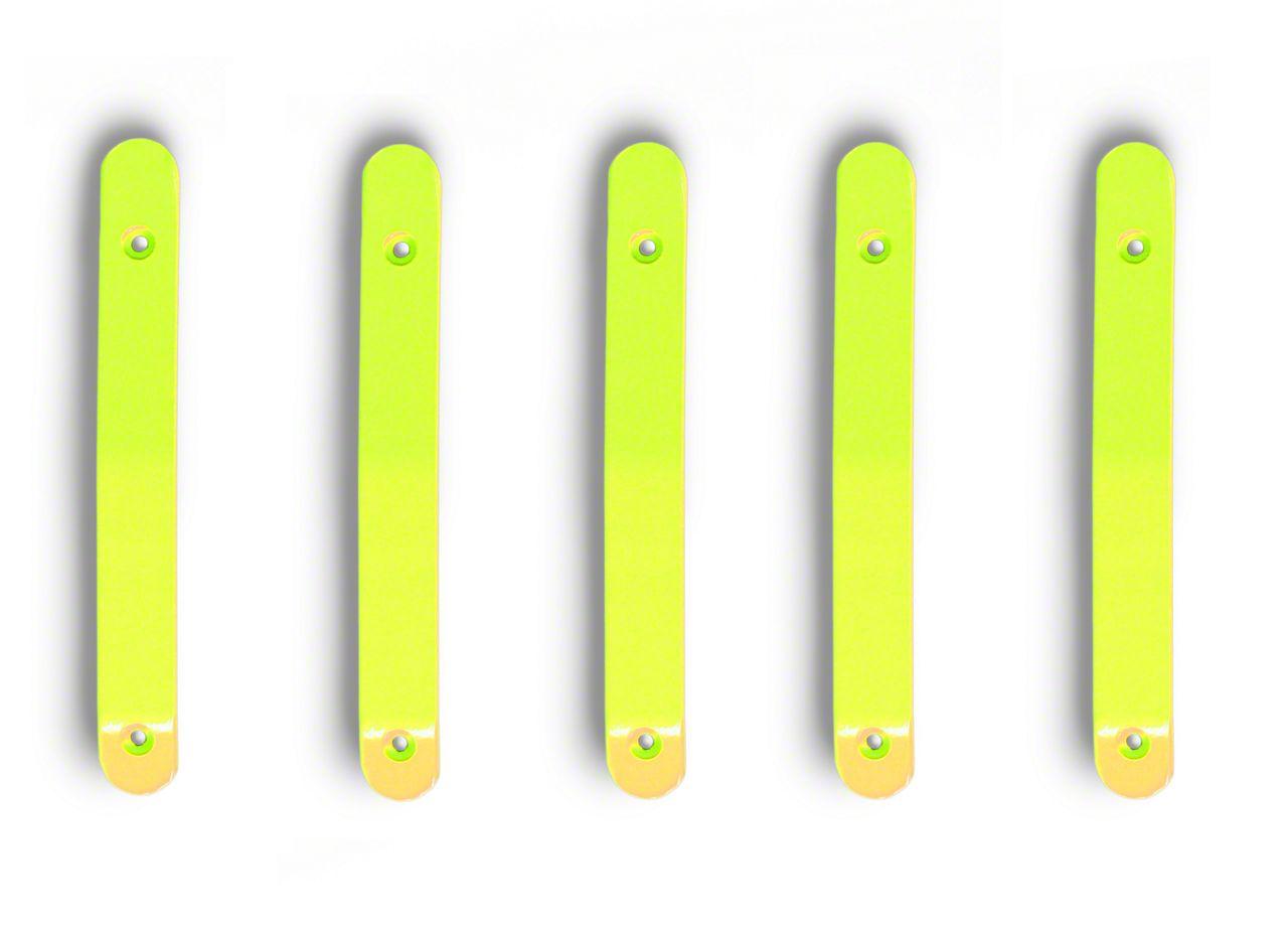 Steinjager Door & Tailgate Handle Accent Kit - Gecko Green (07-18 Jeep Wrangler JK 4 Door)