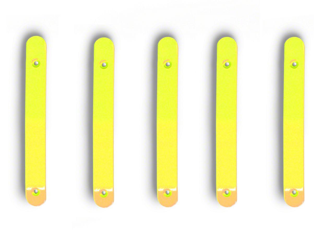 Steinjager Door & Tailgate Handle Accent Kit - Neon Yellow (07-18 Jeep Wrangler JK 4 Door)