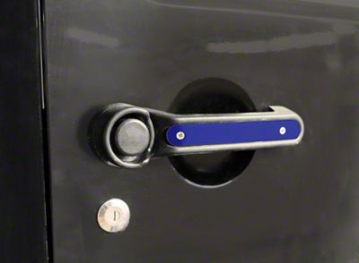 Steinjager Door & Tailgate Handle Accent Kit - Southwest Blue (07-18 Jeep Wrangler JK 4 Door)