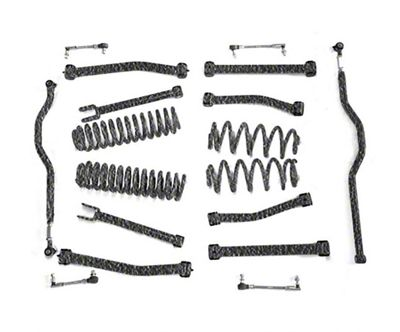 Steinjager 2.5 in. Advanced Lift Kit - Bare Metal (07-18 Jeep Wrangler JK)