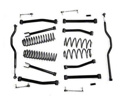 Steinjager 2.5 in. Advanced Lift Kit - Black (07-18 Jeep Wrangler JK)
