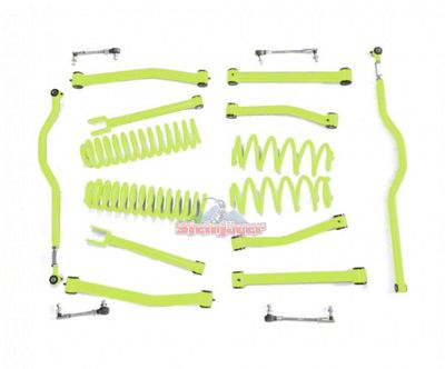 Steinjager 2.5 in. Advanced Lift Kit - Gecko Green (07-18 Jeep Wrangler JK)