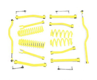 Steinjager 2.5 in. Advanced Lift Kit - Lemon Peel (07-18 Jeep Wrangler JK)