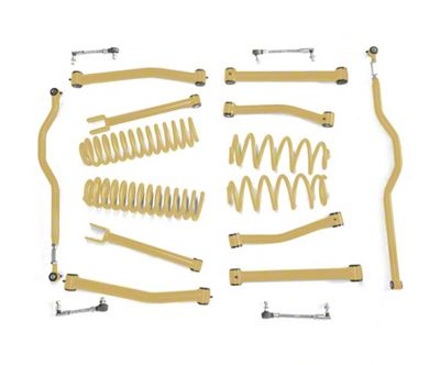 Steinjager 2.5 in. Advanced Lift Kit - Military Beige (07-18 Jeep Wrangler JK)