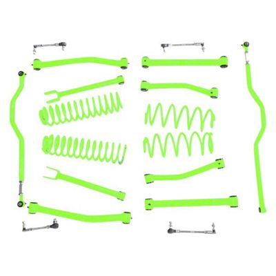 Steinjager 2.5 in. Advanced Lift Kit - Neon Green (07-18 Jeep Wrangler JK)