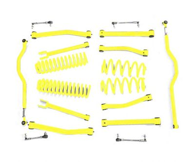 Steinjager 2.5 in. Advanced Lift Kit - Neon Yellow (07-18 Jeep Wrangler JK)