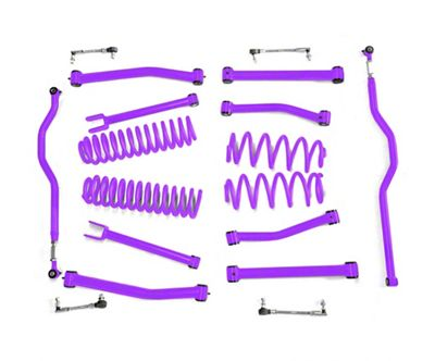 Steinjager 2.5 in. Advanced Lift Kit - Sinbad Purple (07-18 Jeep Wrangler JK)